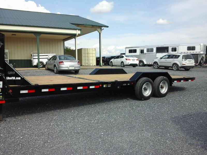 2019 Load Trail 102x24 TA Gravity Tilt Deck Equipment Trailer