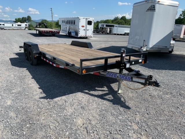 2021 Load Trail 83x20 TA Carhauler Utility Trailer