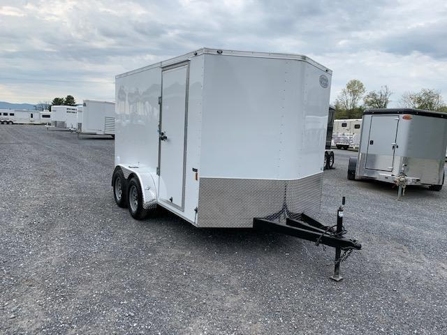 2022 Continental Cargo 7x12 TA Enclosed Cargo Trailer