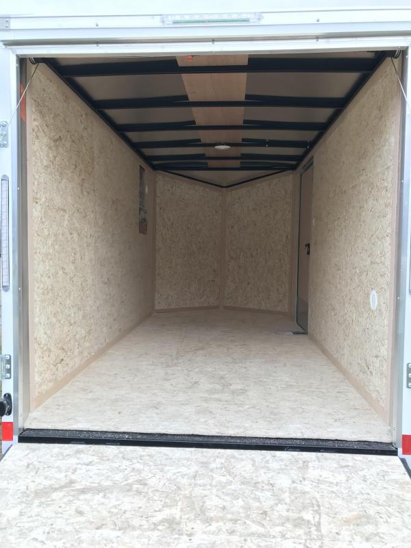New  Pace 6X12 Enclosed Cargo Trailer
