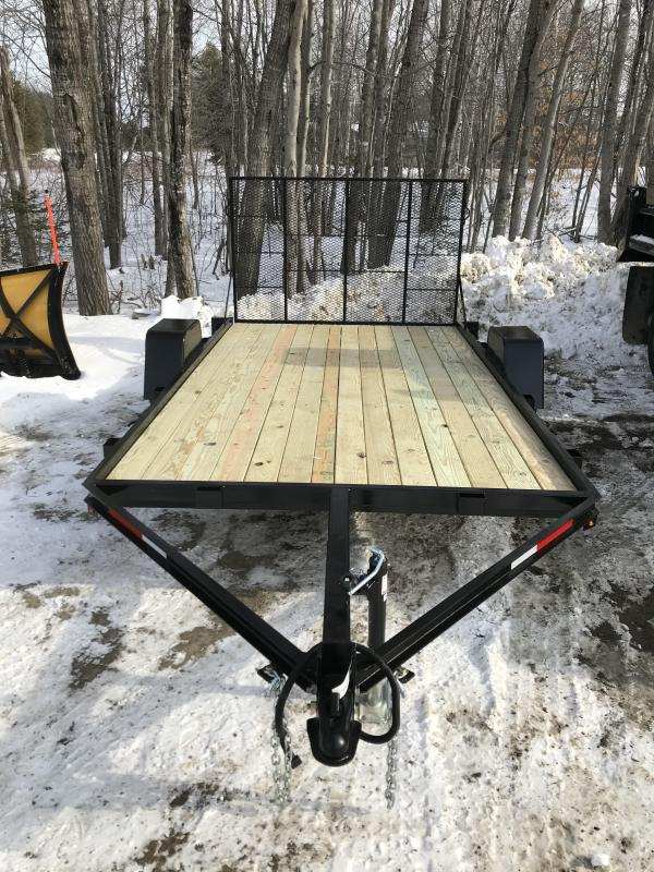 "New On The Road 78"" x 12' Utility Trailer w/ Ramp"
