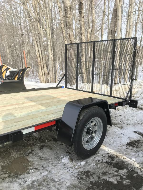"""New On The Road 78"""" x 12' Utility Trailer w/ Ramp"""