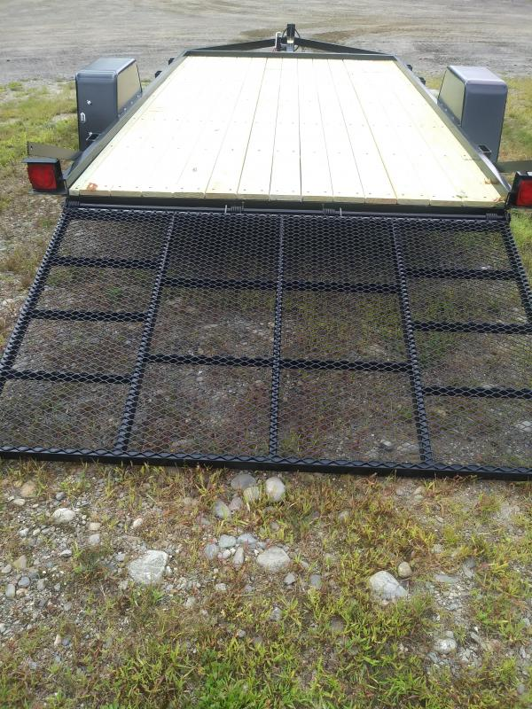 2021 On The Road 6.5 x 10 Single Axle Flatbed Trailer