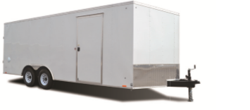 New  Pace 8 1/2 X 20 Enclosed Cargo Trailer