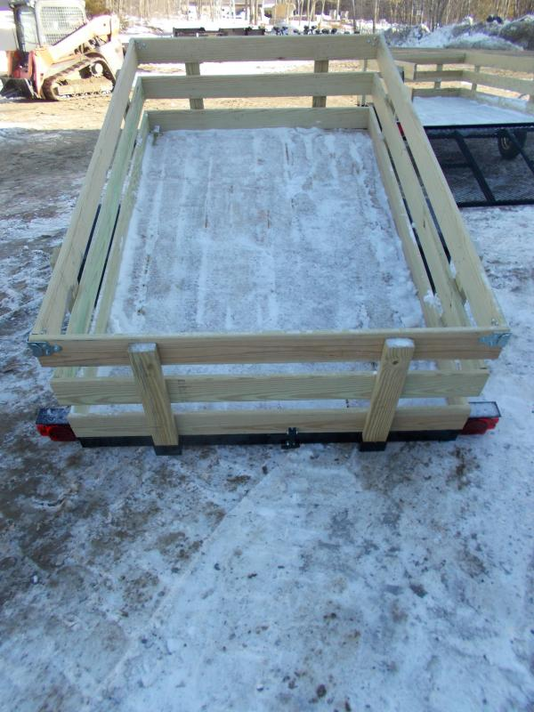 2021 On The Road New On The Road 5x8 Tilt Utility Trailer