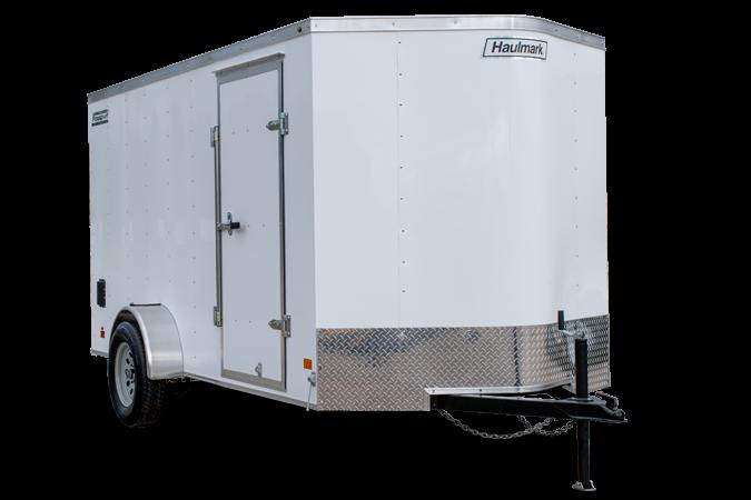 New Haulmark 6x10 Enclosed Cargo Trailer