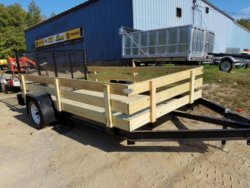 New On The Road 5x8 Utility Trailer