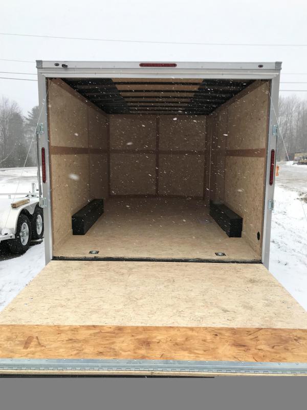 New Haulmark 8.5' x 16' Enclosed Cargo Trailer