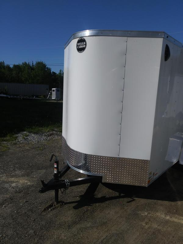 2020 Wells Cargo Fast Trac 6'6'' Enclosed Cargo Trailer