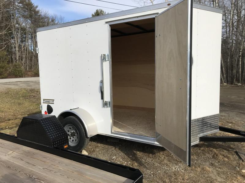 New Haulmark 6x10 Enclosed Cargo Trailer
