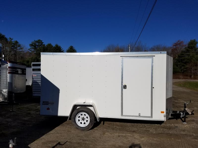 New Haulmark 6x12 Enclosed Cargo Trailer