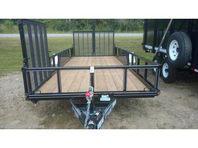 "2018 Golden Trailers 82"" x 18' Trailer w/ Side Ramp"