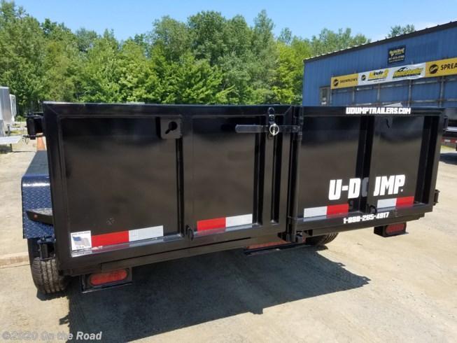 New U-Dump 7 x 12 Dump Trailer