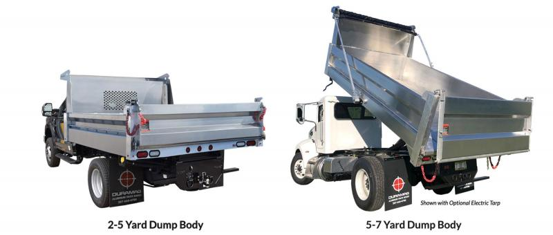 2020 Dura Mag Smooth Side HD Dump Truck Body