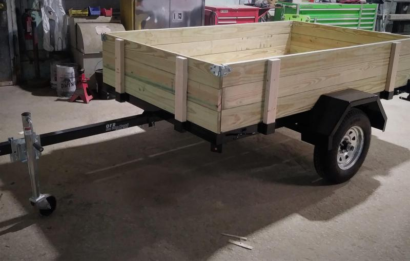 New On The Road 5x8 Tilt Trailer