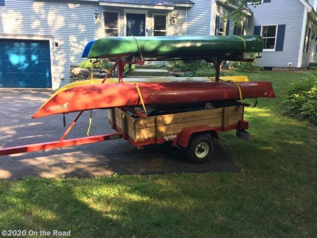 New On The Road 5 x 8 Canoe and Camp Trailer