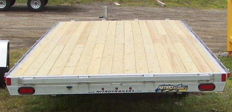 NEW Nitro DT 8X24 Deckover Trailer