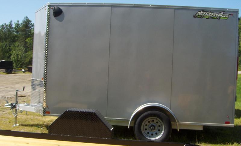 2022 Nitro EC 6X12 S/A Enclosed Cargo Trailer