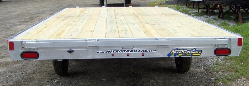 NEW Nitro DT 8X16 Deckover Trailer