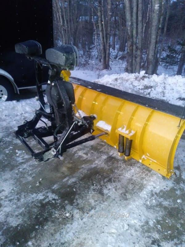 Used Fisher HD2 Snow Plow