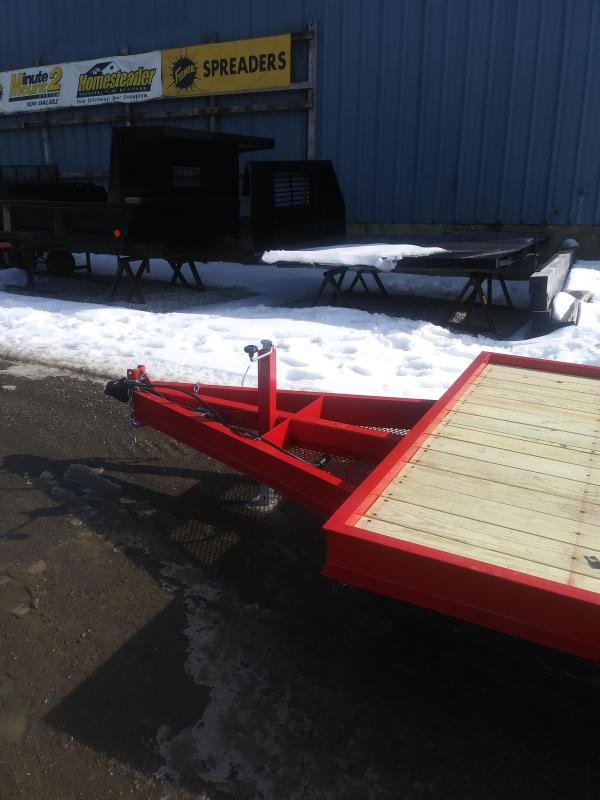 New On The Road 7' X 18' Equipment Trailer