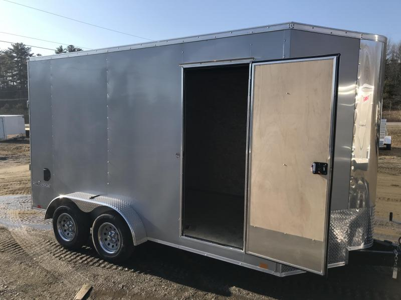 New Pace American 7 X 16 Enclosed Cargo Trailer 6'6'' Tall