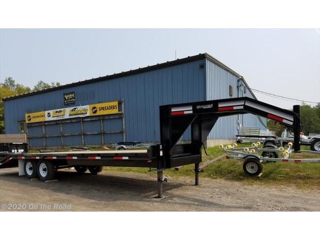 "New Golden 102"" x 20' + 5' Gooseneck Flatbed Trailer"