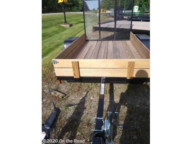 2019 On The Road 5 x 8 Utility Trailer w/ Ramp and Sides