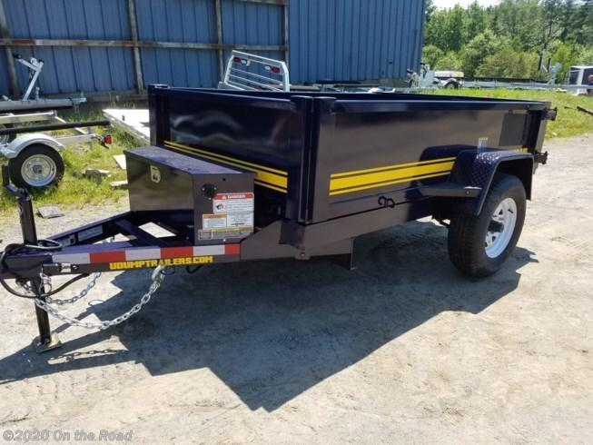 2020 U-Dump 5 x 8 Single Axle Dump Trailer w/ Surge Brakes