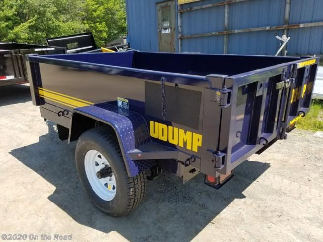 2020 U-Dump 5 x 8 Single Axle Dump Trailer w/ Surge Brakes