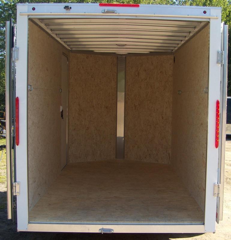 New Nitro EC 6X12 S/A Enclosed Cargo Trailer