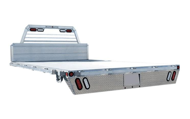 New  DuraMag TB08495 Aluminum Cab Chasis Flat Bed