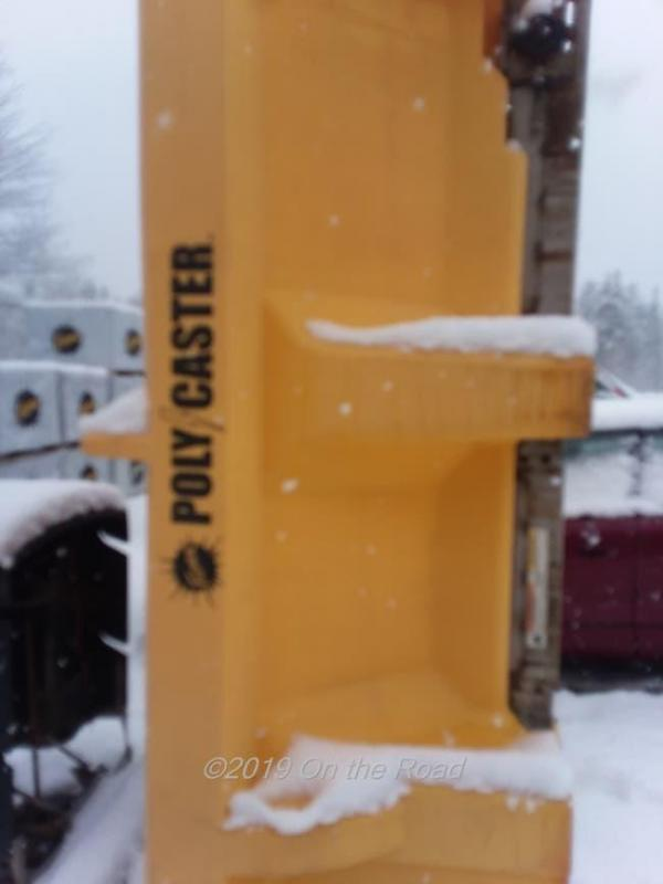Used Fisher Poly Caster Spreader