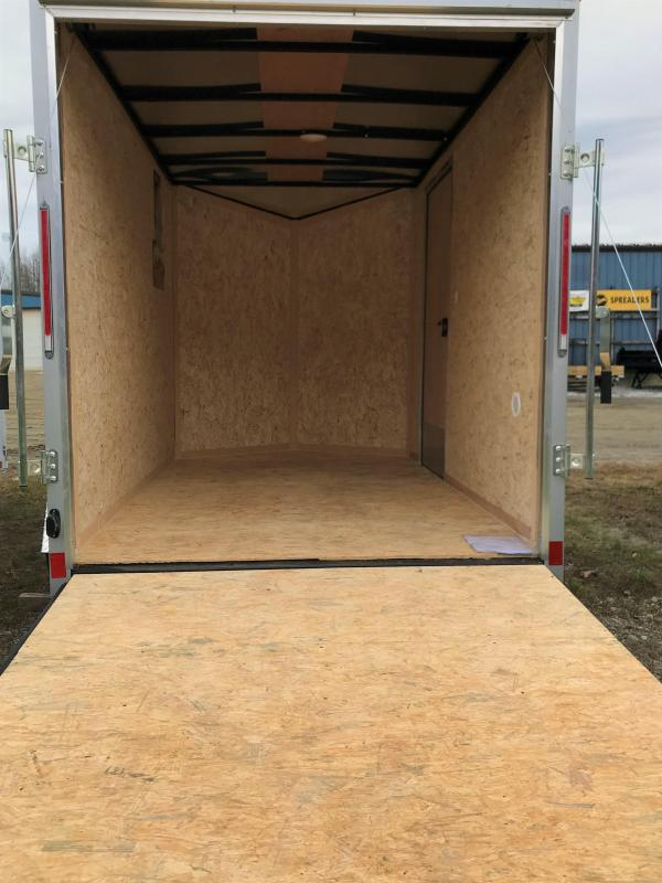 New Pace 6X10 Enclosed Cargo Trailer