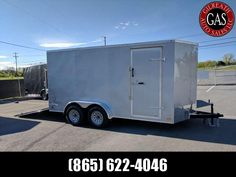 2020 Haulmark PP714T2-D Tandem Enclosed Cargo Trailer 7x14x7 Ramp Door Extra Height for UTV or Golf Cart