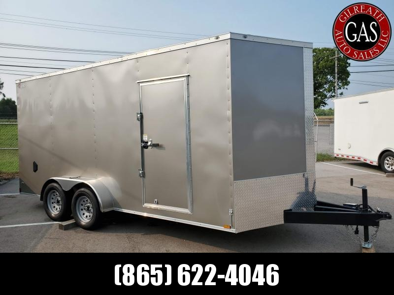 2021 Anvil 7x16x7 EXTRA HEIGHT Tandem Axle V Nose WITH OPTIONS