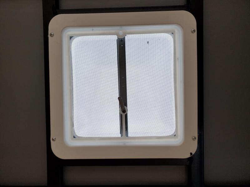 2022 Anvil 6x10 V-Nose Enclosed Trailer Ramp Door Charcoal