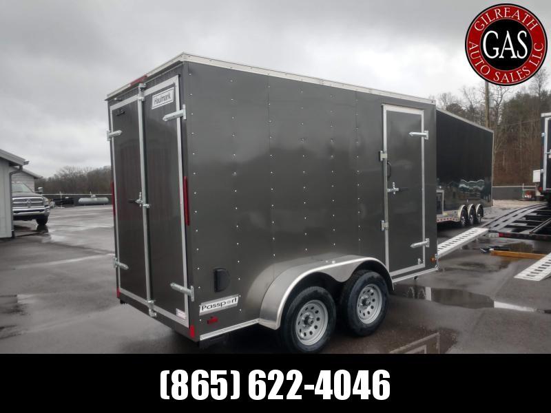 2020 Haulmark PP612T2-D Tandem Enclosed Cargo Trailer 6x12 Swing Doors