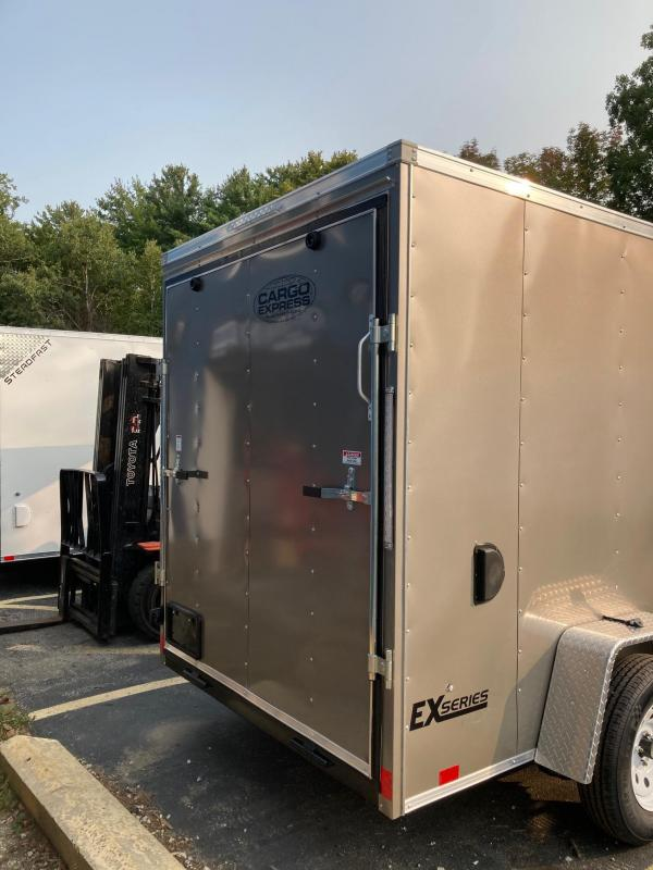 2021 Cargo Express EXDLX6x10 Enclosed Cargo Trailer