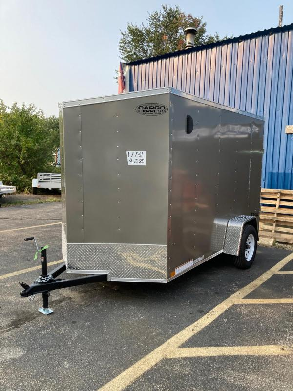 2021 Cargo Express EXDLX6x10 Enclosed Cargo Trailer
