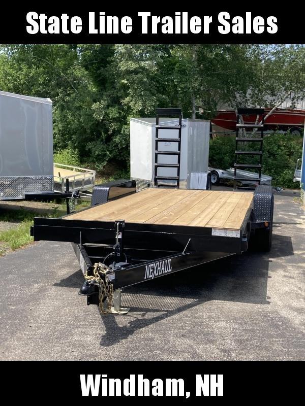 2021 Nexhaul N 7X18 14k Equipment Trailer