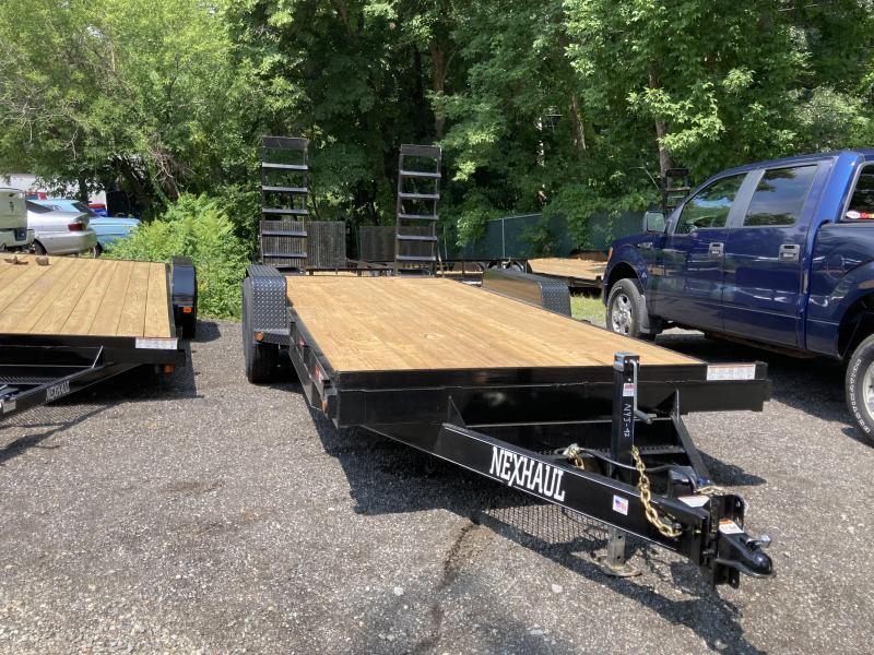 2021 Nexhaul N7x18TA 14k Equipment Trailer