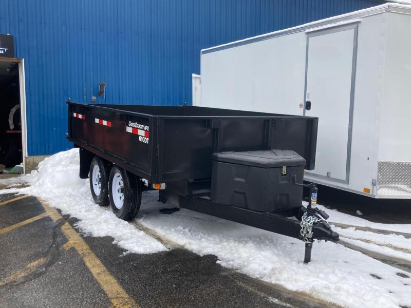 2021 Cross Country Manufacturing 610DT6 Dump Trailer
