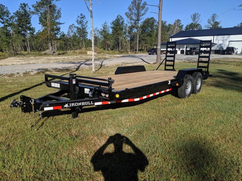 2020 Iron Bull 83X20 14K Equipment Trailer