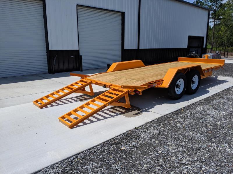 2021 Econoline 7X18 7 TON Equipment Trailer