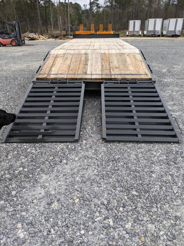 2021 Econoline 102x25 10 Ton Tag Equipment Trailer
