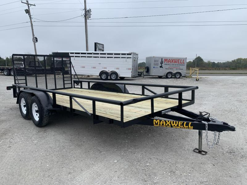 2007 Doolittle Trailer Mfg TA Railed Utility Trailer
