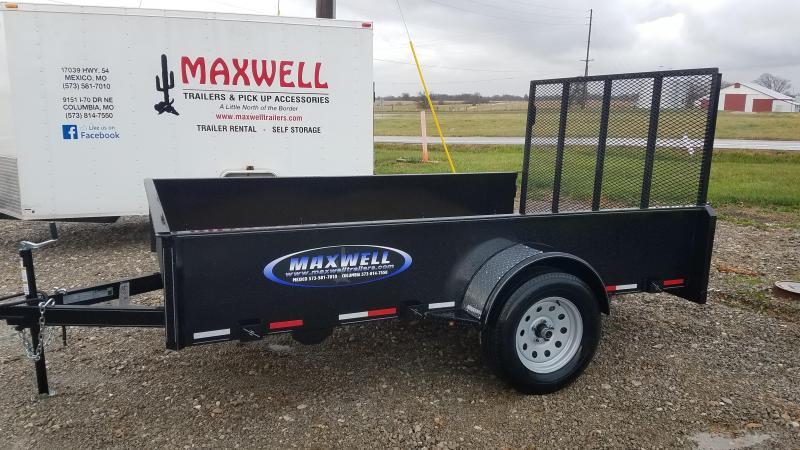 2021 Maxwell 77x10 Utility Trailer *