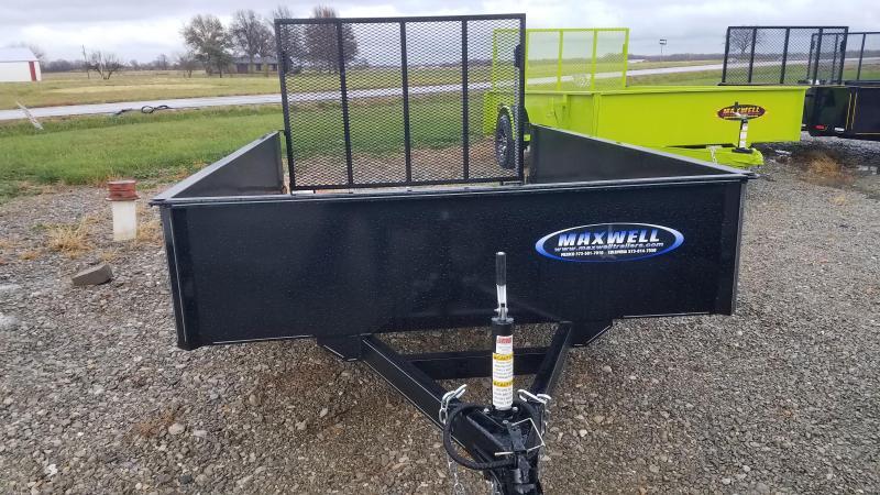 2021 Maxwell 77x10 Utility Trailer