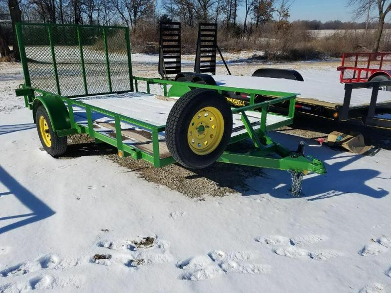 Demo 2016 Maxwell 82 x 12 Utility Trailer - Available for rent!!!